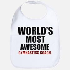 World's Most Awesome Gymnastics Coach Bib