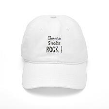 Cheese Steaks Rock ! Baseball Cap