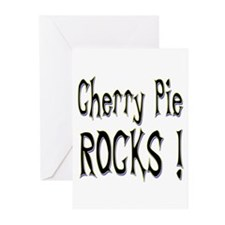 Cherry Pie Rocks ! Greeting Cards (Pk of 20)