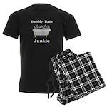 Bubble Bath Junkie Men's Dark Pajamas
