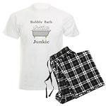 Bubble Bath Junkie Men's Light Pajamas