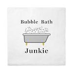 Bubble Bath Junkie Queen Duvet