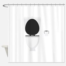 Toilet Shower Curtain