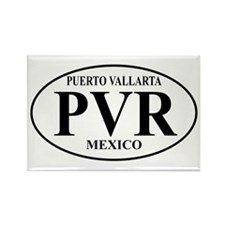 PVR Puerto Vallarta Rectangle Magnet (100 pack)