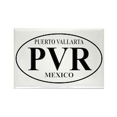 PVR Puerto Vallarta Rectangle Magnet (10 pack)
