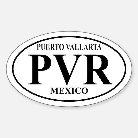 PVR Puerto Vallarta Oval Decal