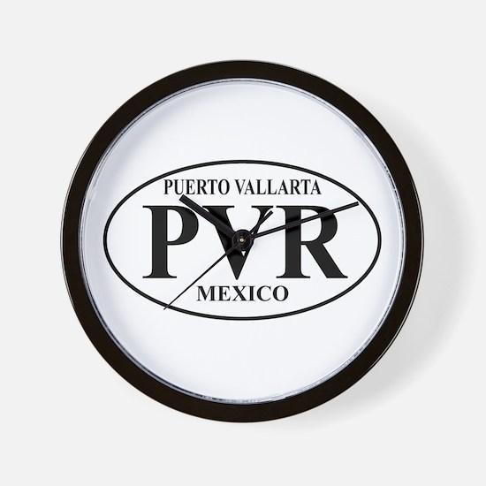 PVR Puerto Vallarta Wall Clock