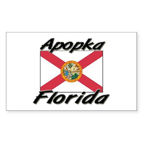 Apopka Florida Rectangle Sticker