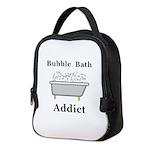 Bubble Bath Addict Neoprene Lunch Bag