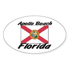 Apollo Beach Florida Oval Decal