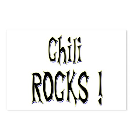 Chili Rocks ! Postcards (Package of 8)