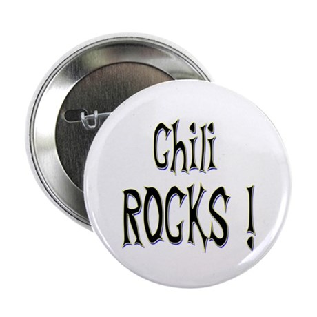 "Chili Rocks ! 2.25"" Button (100 pack)"