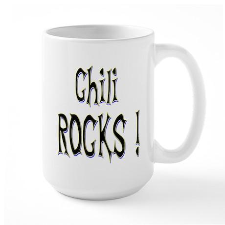 Chili Rocks ! Large Mug
