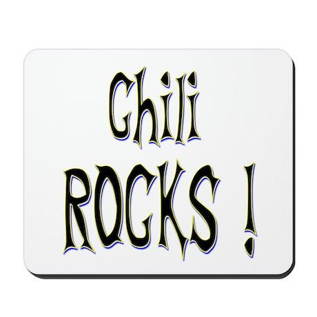 Chili Rocks ! Mousepad