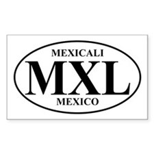 MXL Mexicali Rectangle Decal