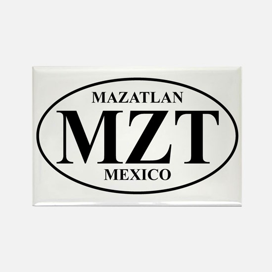 MZT Mazatlan Rectangle Magnet