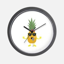 Singing Pineapple Wall Clock
