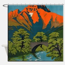 Schweiz Shower Curtain