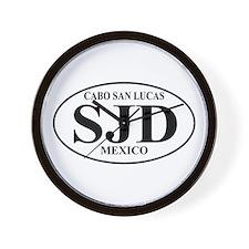 SJD Cabo San Lucas Wall Clock