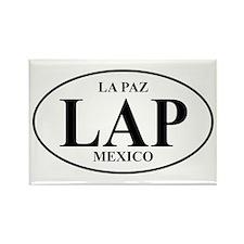 LAP La Paz Rectangle Magnet (10 pack)