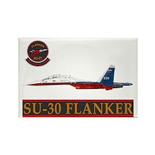 Su-30 Flanker Rectangle Magnet