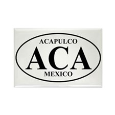 ACA Acapulco Rectangle Magnet (10 pack)