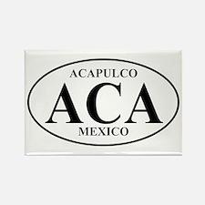 ACA Acapulco Rectangle Magnet