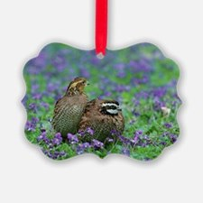 Cute Wildflowers Ornament