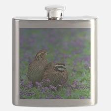 Funny Bobwhite Flask