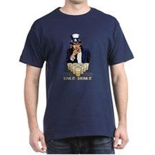 Beer pong abe T-Shirt