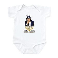 Sink it Drink it Abe Infant Bodysuit