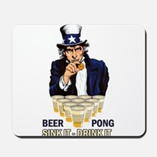 Sink it Drink it Abe Mousepad