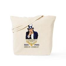 Sink it Drink it Abe Tote Bag