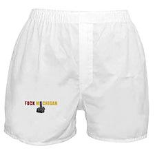 Fuck Michigan Boxer Shorts