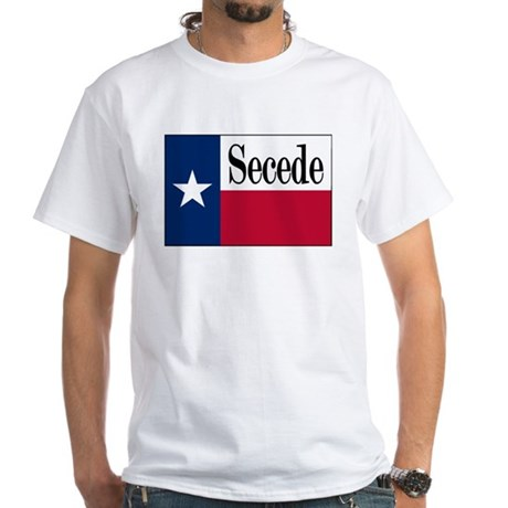 Secede White T-Shirt