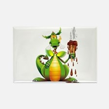 Fun Dragon with Ice Cream Magnets
