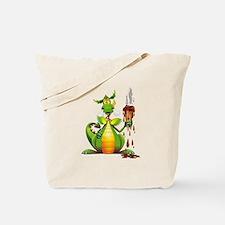 Fun Dragon with Ice Cream Tote Bag