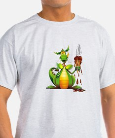 Fun Dragon with Ice Cream T-Shirt