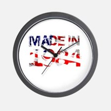 Made In USA 1984 Wall Clock
