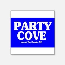 Party Cove Rectangle Sticker