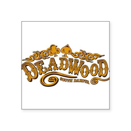 Deadwood Saloon Sticker