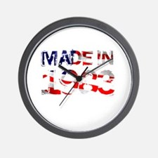 Made In USA 1983 Wall Clock