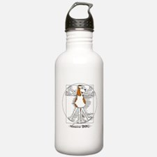 Vitruvian Dog Water Bottle