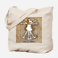 Vitruvian Dog Tote Bag