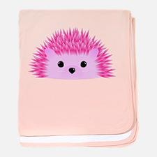 Cute Hedgehog baby blanket
