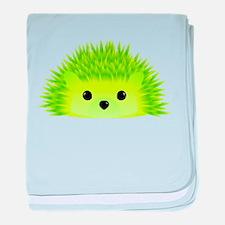 Unique Hedgehogs baby blanket