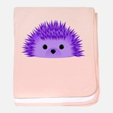 Funny Purple baby blanket