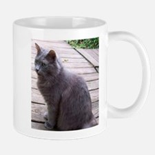Gray Cat Mugs
