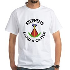 Stephens Land and Cattle logo T-Shirt