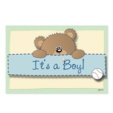 Lil' It's a Boy Postcards (Package of 8)